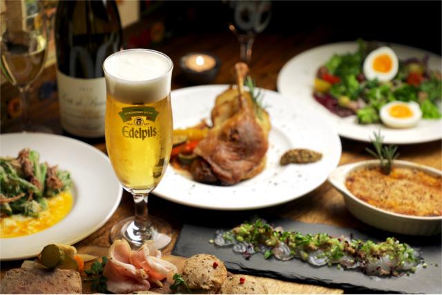 人気の料理をご提供!フランス料理は中目黒の駅から徒歩約15分の場所に位置する【ビストロ13区】で